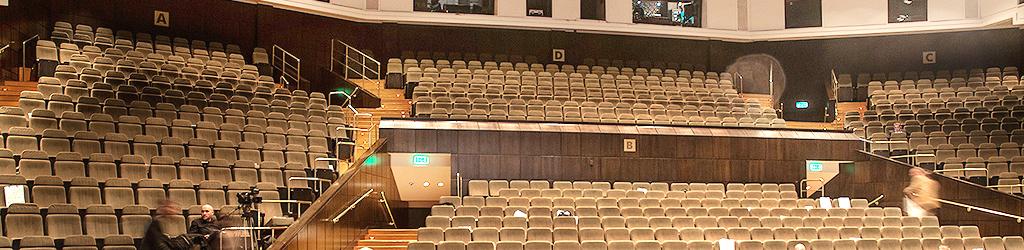 Opera Nova Bydgoszcz, sala główna widownia