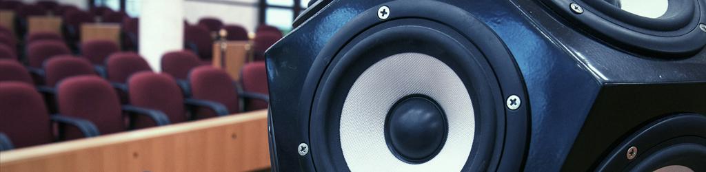 Głośnik do pomiarów akustycznych