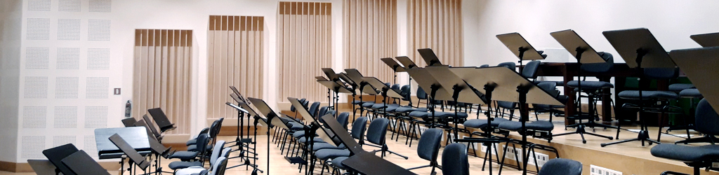Białystok Filharmonia Podlaska - sala prób orkiestry