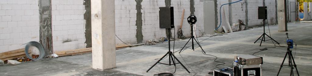 Nadzory - pomiary akustyczne na budowie