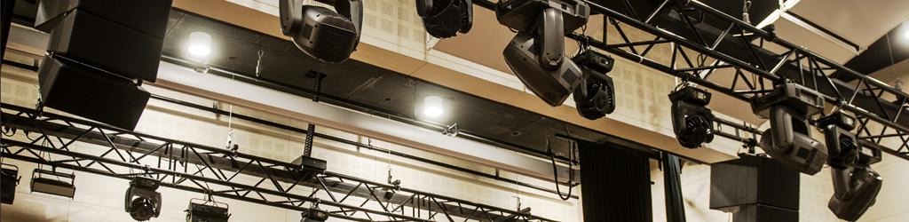 Kozienice Centrum Kulturalno-Artystyczne, oświetlenie sceniczne